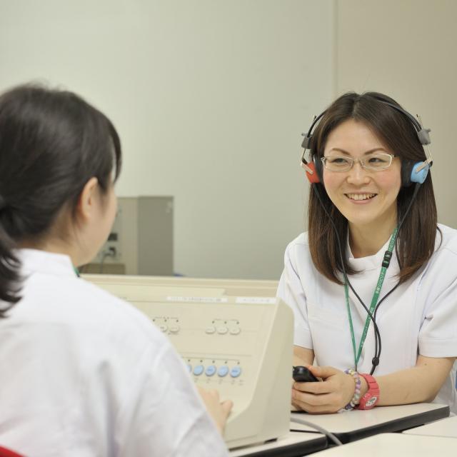 多摩リハビリテーション学院専門学校 【言語聴覚科】言語聴覚士の仕事2