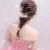 名古屋ウェディング&ブライダル専門学校 編み込みヘアアレンジ体験