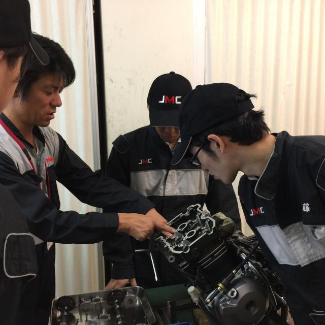 日本モータースポーツ専門学校大阪校 カワサキの技術を学ぼう!【カワサキ二輪コース】1