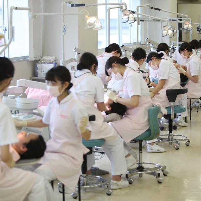 明倫短期大学 歯科衛生士を目指すあなたに「オープンキャンパス」開催3