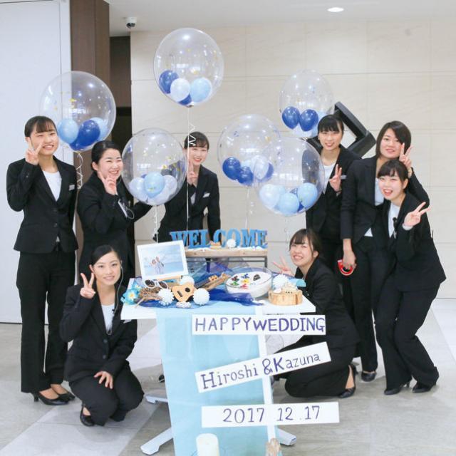 専門学校岡山ビジネスカレッジ ブライダル学科オープンキャンパス2