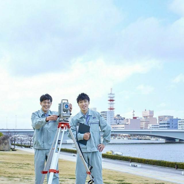 新潟工科専門学校 測量・土木の仕事を目指す方へ!【ドローン体験をしよう!】1