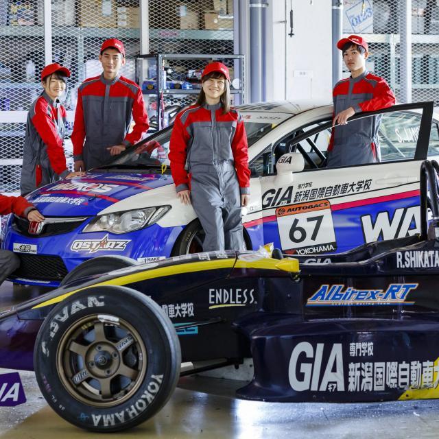 専門学校 新潟国際自動車大学校 GIAオープンキャンパス学校直行無料送迎バス3