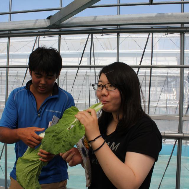 オイスカ開発教育専門学校 夏休みを利用してのオープンキャンパス♪1