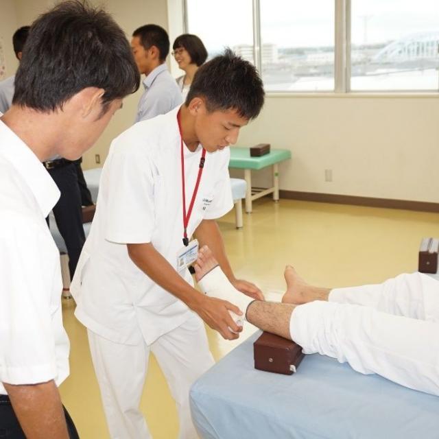 郡山健康科学専門学校 体験入学3