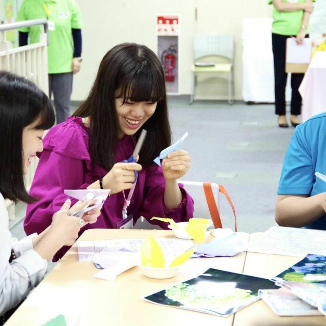 東京福祉保育専門学校 介護のオープンキャンパス☆優しさNO1の先生と先輩に会える!1