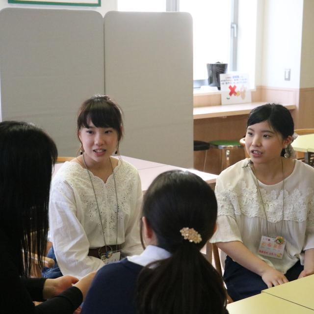 貞静学園短期大学 学生生活、入試対策、、先輩に聞いちゃおう!3