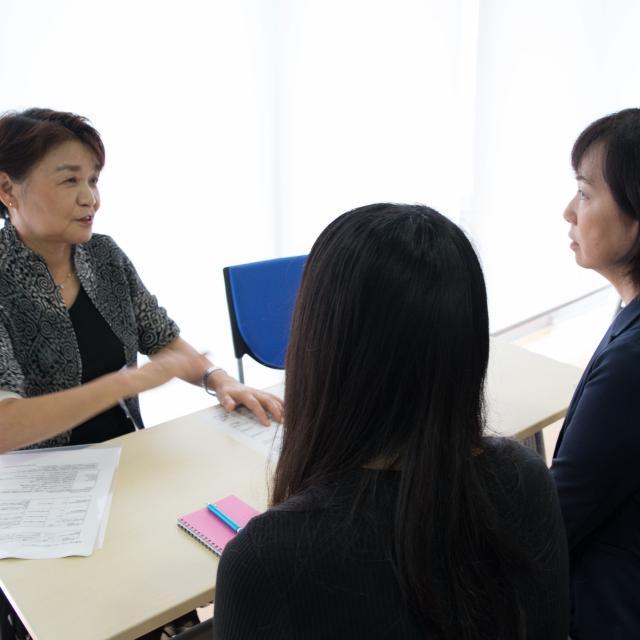 東京情報大学 進学相談会3