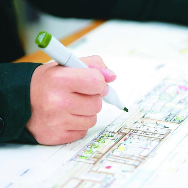 京都建築大学校 インテリア体験ができるオープンキャンパス2