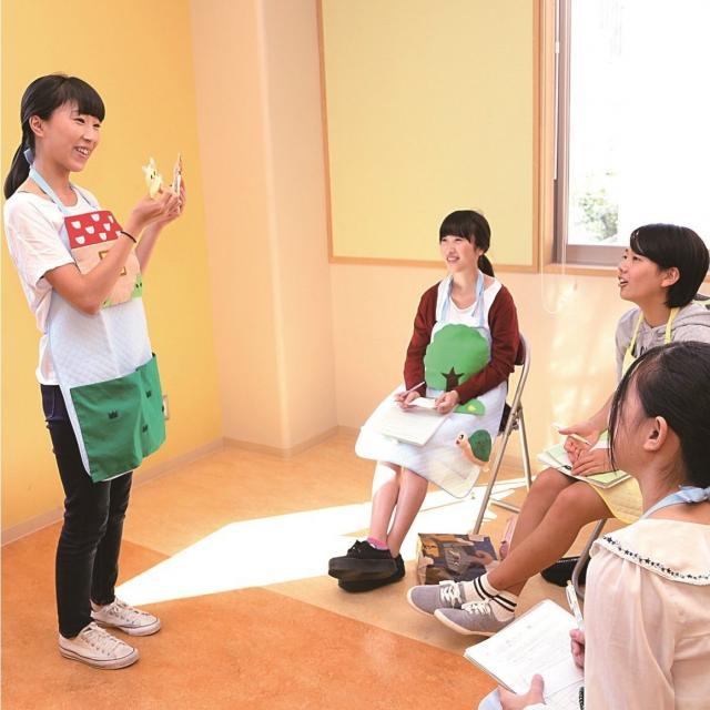 名古屋文化学園保育専門学校 キャンパス見学会2