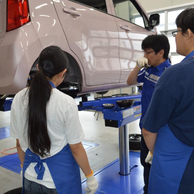 専門学校 東海工科自動車大学校 自動車整備を体験しよう!2