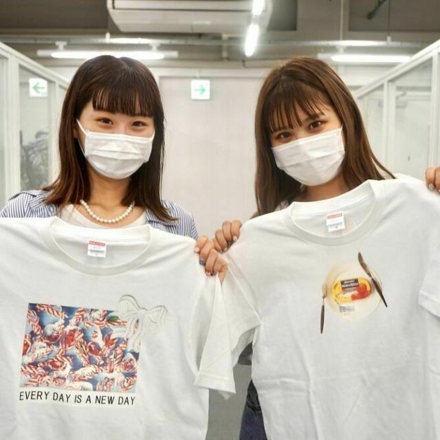 名古屋ファッション専門学校 3月5日・Tシャツプリントリメイク・メイク体験・ガイダンス1