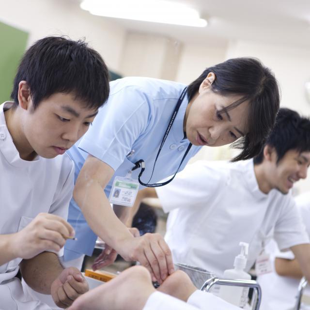 東京医療専門学校 高校1-2年生【鍼灸・マッサージ】春キャンからはじめよう!2