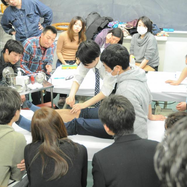 東京医療福祉専門学校 夜の学校説明会4