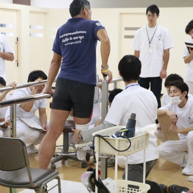 神戸医療福祉専門学校三田校 【義肢装具士科】<必見!実習見学会>1