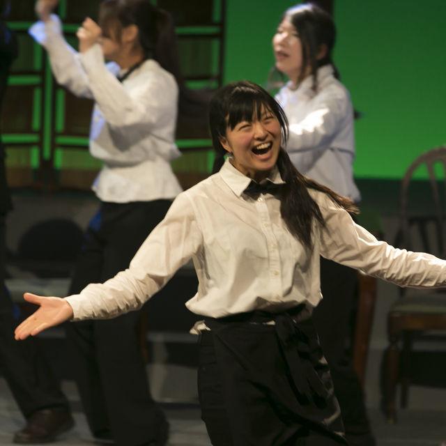 専門学校東京アナウンス学院 演技科の体験入学「舞台俳優レッスン」1