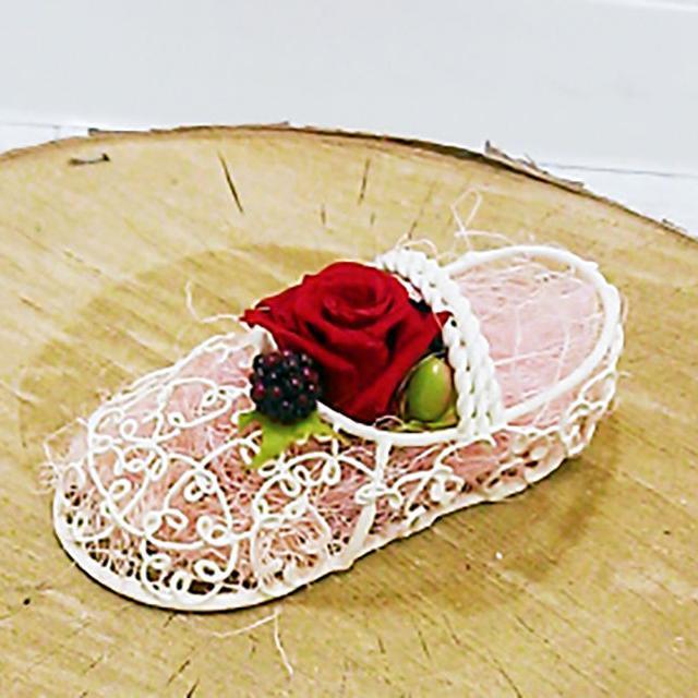 大阪ビジネスカレッジ専門学校 夏色コサージュ★夏花で作るフラワーアクセサリー1