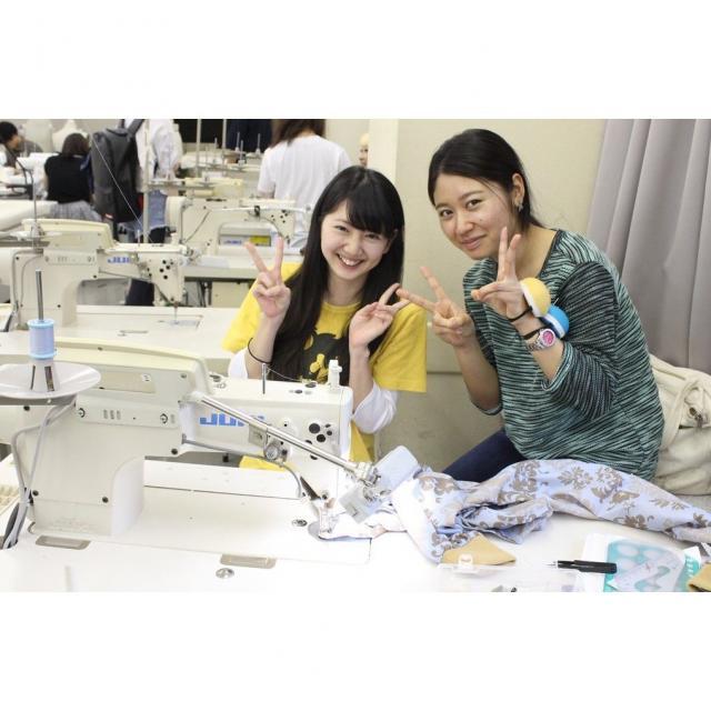 大阪文化服装学院 学生といっしょに はじめてのスカートづくり1