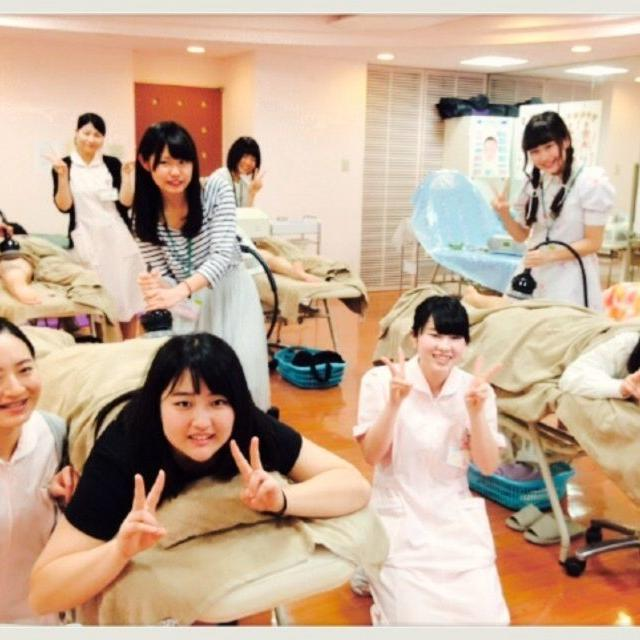 横浜ビューティー&ブライダル専門学校 【エステ】エステ体験でキレイになれる☆高校2年生も歓迎♪1