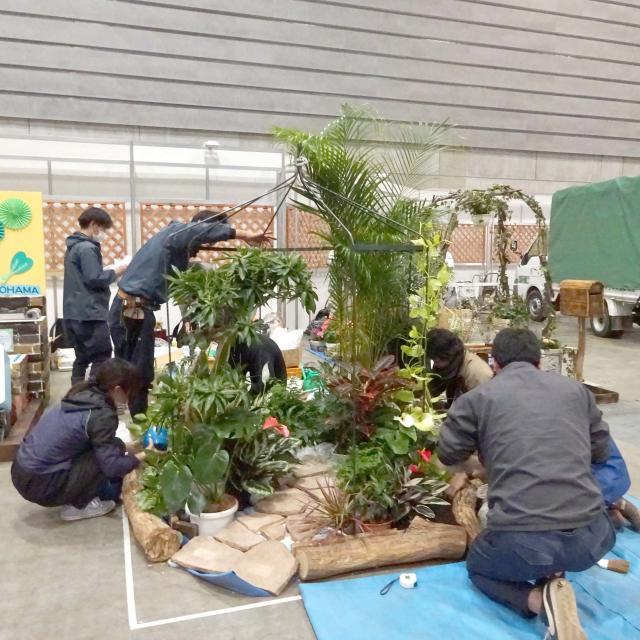 日本ガーデンデザイン専門学校 在校生自らの言葉映像でお伝えします!ガーデンショーへの挑戦4