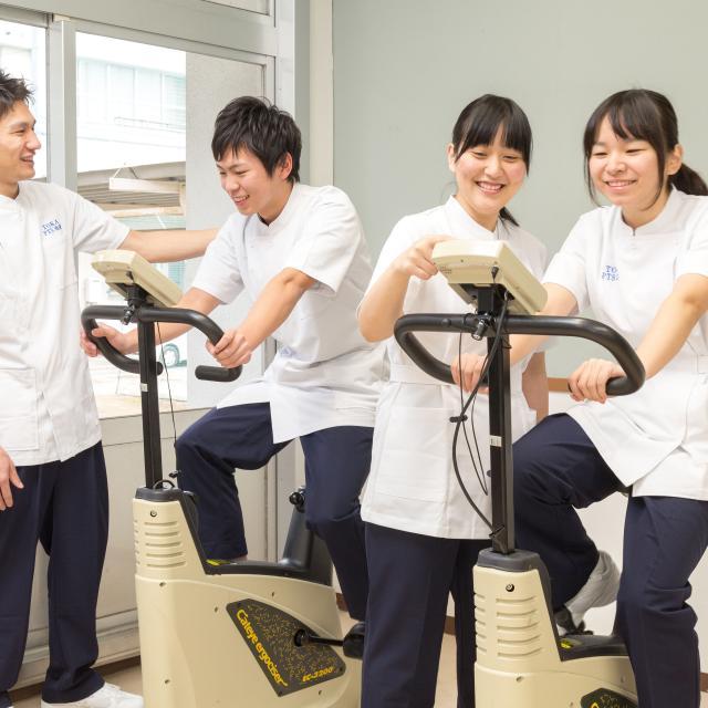 藤華医療技術専門学校 リハビリ系夏休みSPオープンキャンパス1