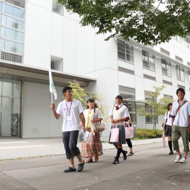 土曜キャンパス見学会(薬学部・理学部・健康科学部)