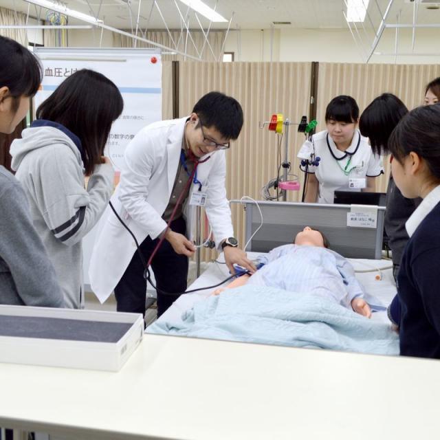 横浜創英大学 オープンキャンパス(2019年度最初)1