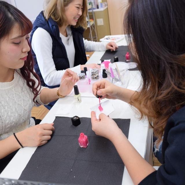 大阪ビューティーアート専門学校 【ネイル】ネイルでおしゃれに♪オープンキャンパス3