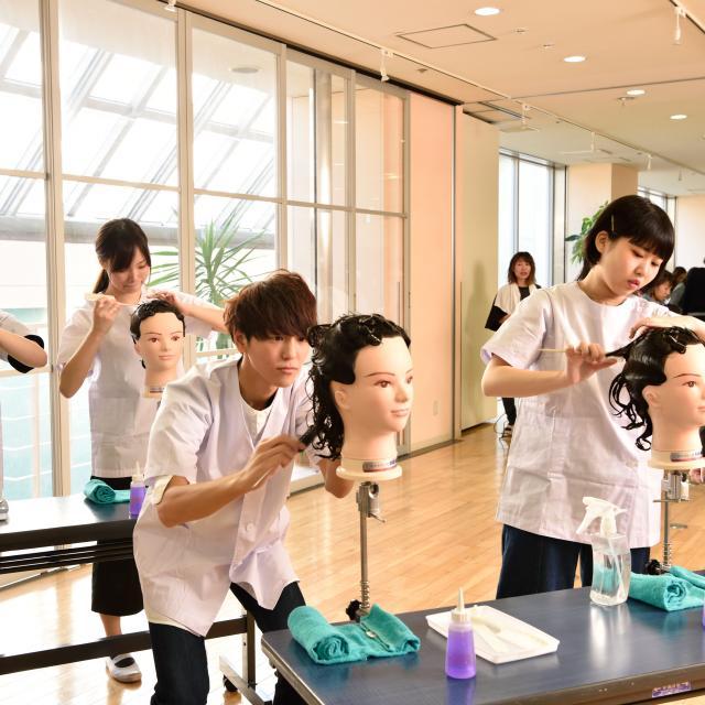 理容美容専門学校西日本ヘアメイクカレッジ 1Day Lesson1