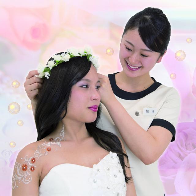 松本理容美容専門学校 ヘアフェスティバル いろいろな実習体験できますよ1