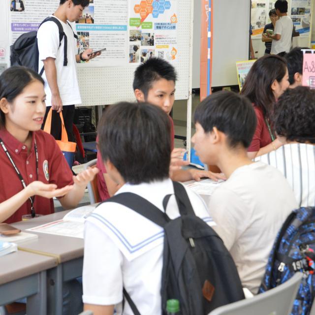 沖縄国際大学 2019春のオープンキャンパス3