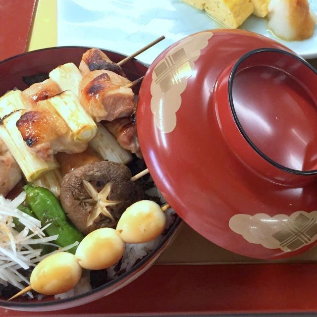 二葉栄養専門学校 ★調理師 体験入学★ 焼き鳥丼1