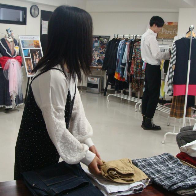 ファッション文化専門学校DOREME 販売員をバーチャル体験!接客ロールプレイング2