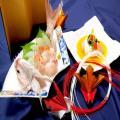 東京山手調理師専門学校 【日本料理】夏の贅沢お造り~鯛茶漬け~