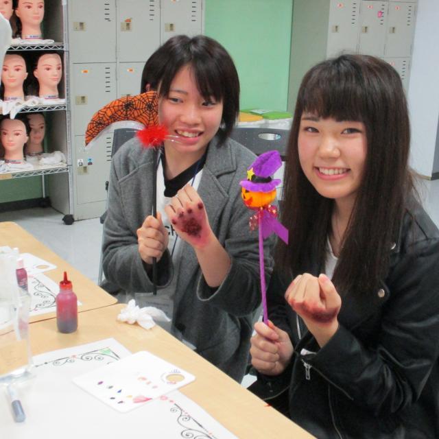 パリ総合美容専門学校 柏校 10/13(土)HALLOWEEN SPECIAL !1