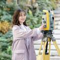 中央工学校 2021体験入学☆測量機器を使ってみよう!