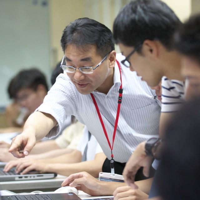 熊本電子ビジネス専門学校 体験授業4