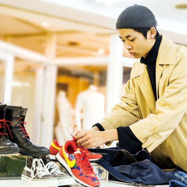 大阪ビジネスカレッジ専門学校 ファッションバイヤー体験1