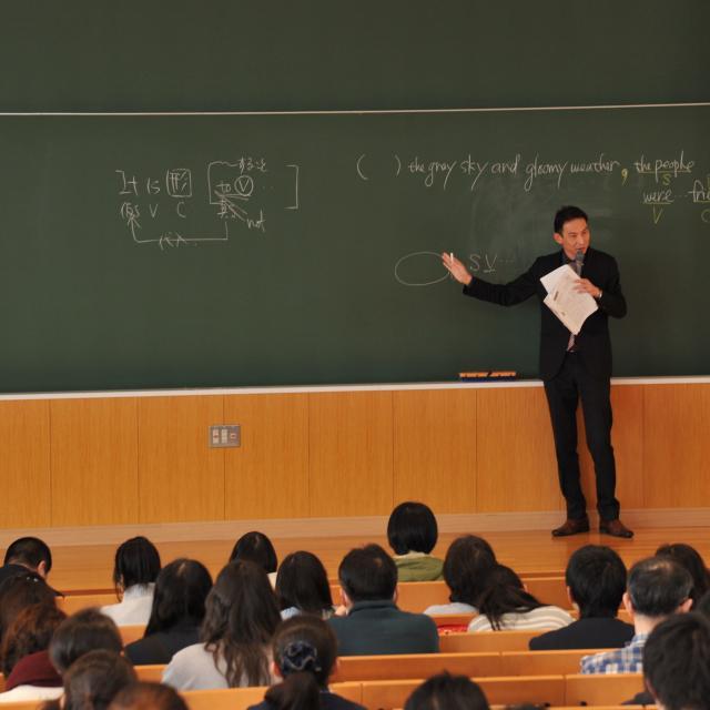 北里大学 入試対策講座・進学相談会1