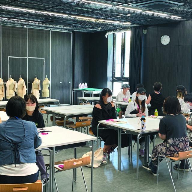 渋谷ファッション&アート専門学校 【1日コース】学校説明+体験実習(パーカー)2
