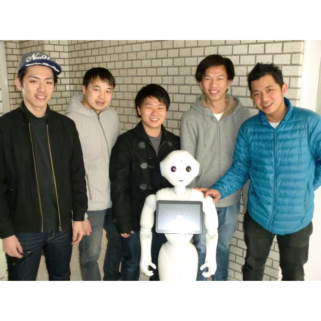 日本理工情報専門学校 体験イベント!「ペッパーの仕組みを知ろう」~動かそう~1