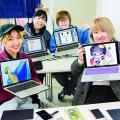 日本デザイナー学院 いらすと交流会