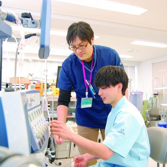 北海道ハイテクノロジー専門学校 医療機器のスペシャリスト!臨床工学技士の仕事の魅力を知ろう!1