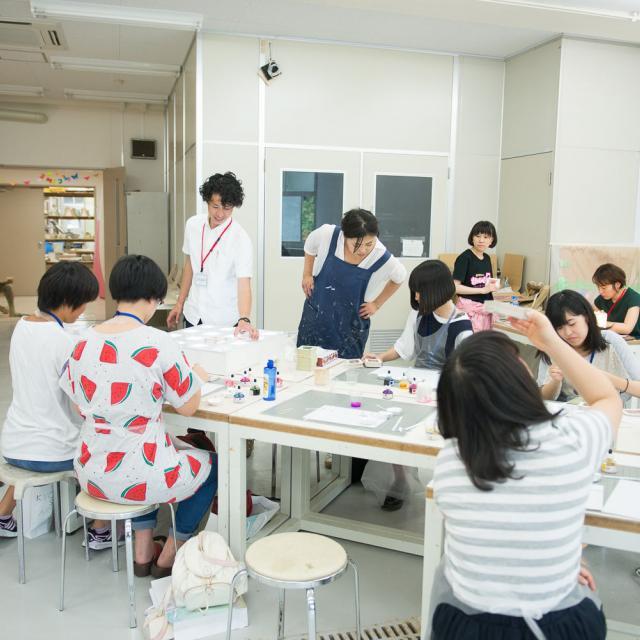 嵯峨美術短期大学 SAGABI オープンキャンパス20182