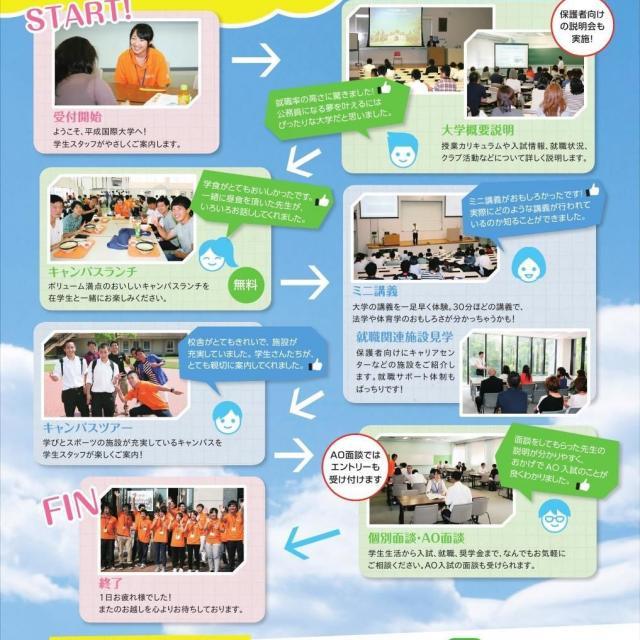 平成国際大学 大学祭(H.I.U FESTA 2018)2