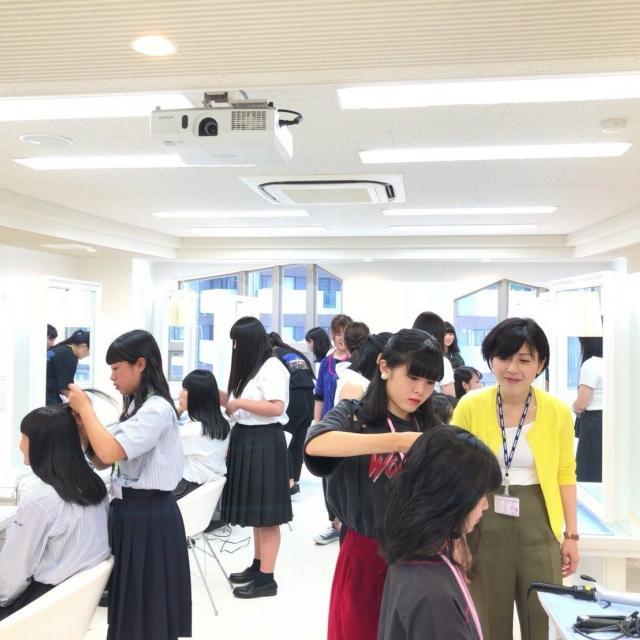 広島ビューティー&ブライダル専門学校 ≪全学年対象≫可愛くオシャレに♪オープンキャンパス&入試説明3