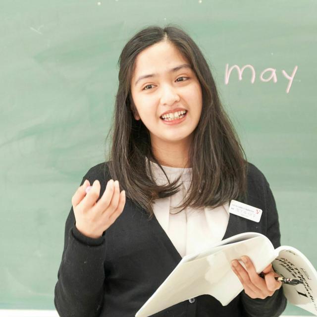 仙台YMCA国際ホテル製菓専門学校 人と話すのが好き+英語コミュニケーション力をつけたい!2