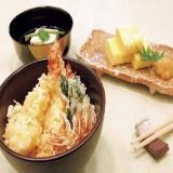 ~日本料理~【天ぷら丼・だし巻き玉子・帆立貝真薯清汁仕立て】の詳細