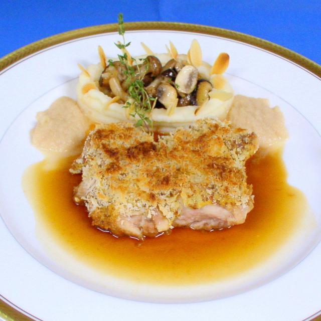 二葉栄養専門学校 ★グランシェフコース★ 牛肉のエスカロップ+製菓1