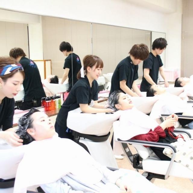 愛媛県美容専門学校 HIMEBI サロンDay  在校生から美容施術を体験☆彡3